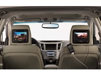 Subaru Legacy Rear Seat Entertainment
