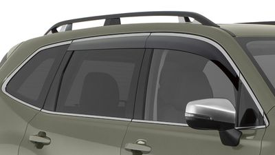 Fits Subaru Outback 2010-2014 In-Channel Window Visor Rain Guards Deflectors