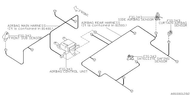 Wiring Harness - Main - 2009 Subaru ForesterSubaruPartsDeal.com - Genuine Subaru Parts
