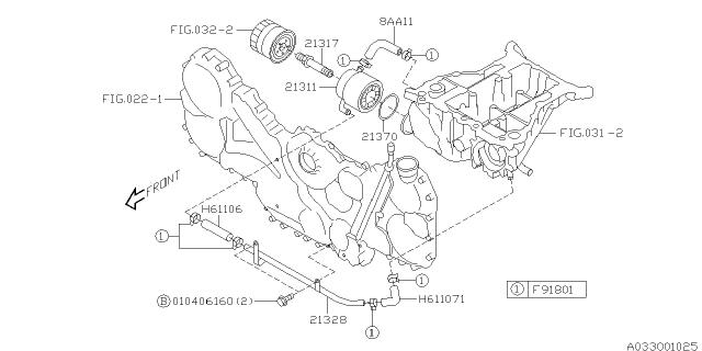 Oil Cooler - Engine - 2005 Subaru BajaSubaru Parts Deal