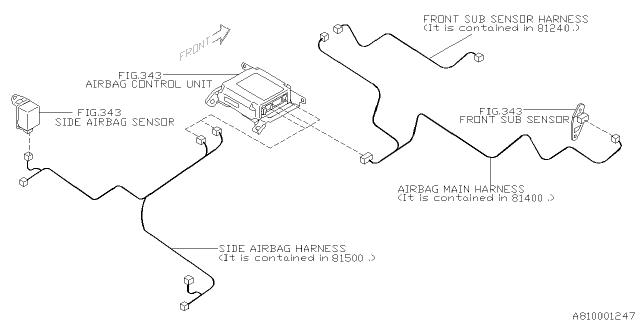wiring harness - main - 2006 subaru impreza wrx  subarupartsdeal.com - genuine subaru parts