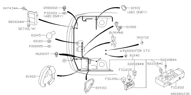 Wiring Harness - Main - 2006 Subaru Impreza STISubaruPartsDeal.com - Genuine Subaru Parts