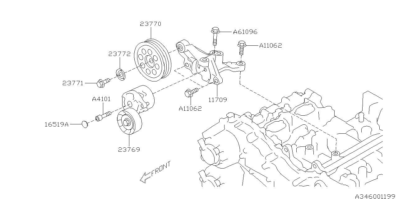2015 Subaru XV Crosstrek Power Steering System