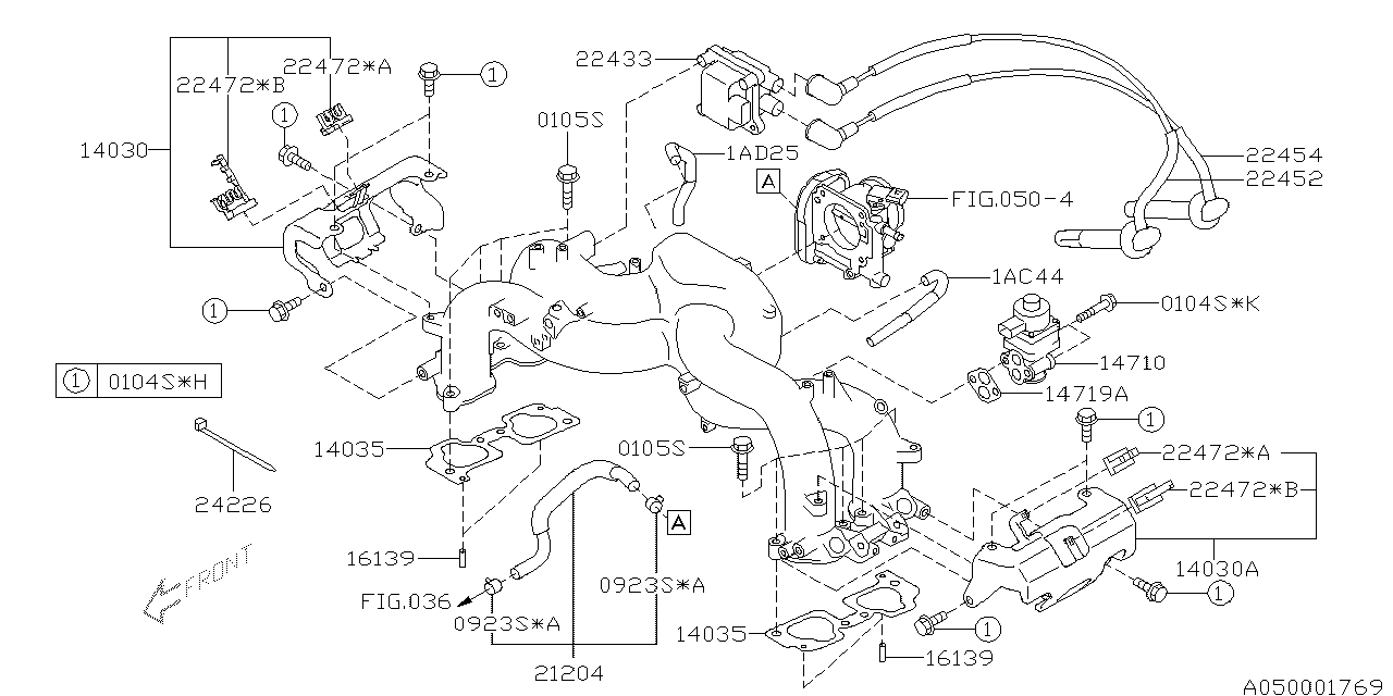 Subaru Forester Parts Diagram