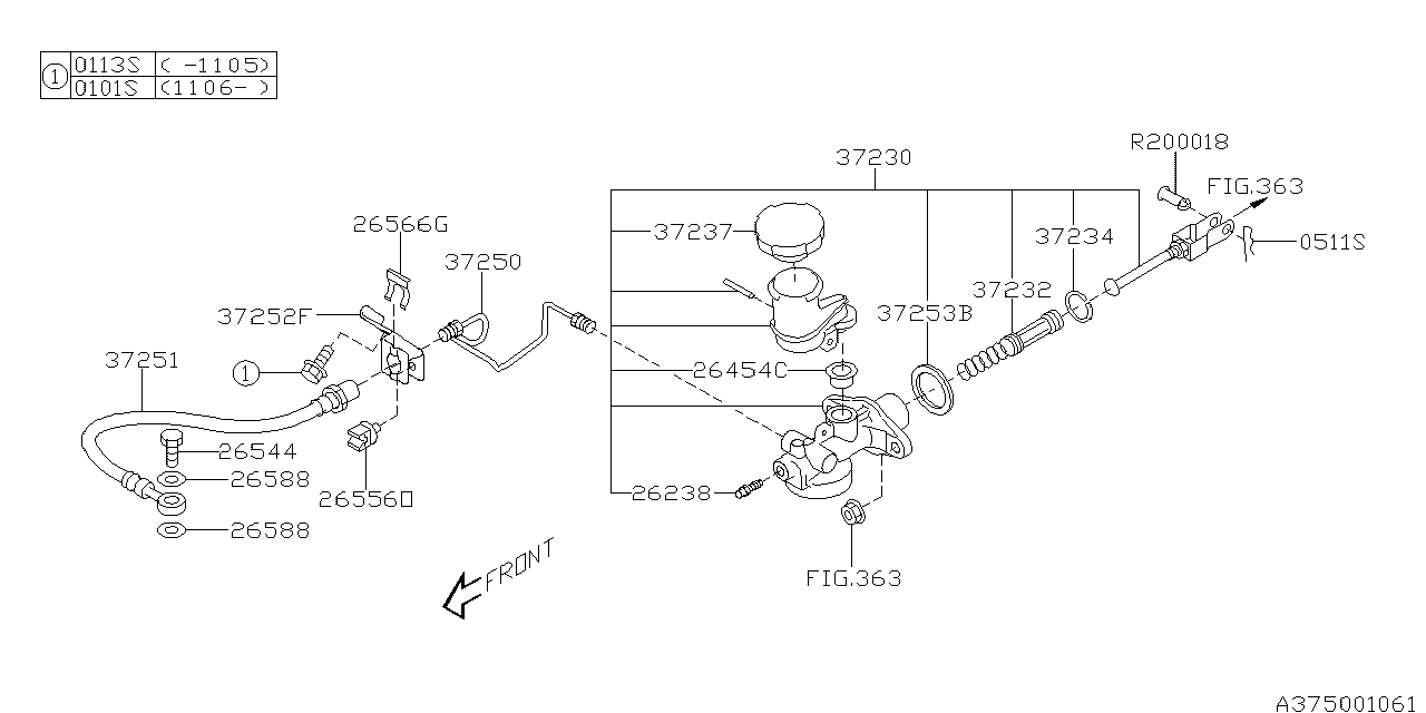 Subaru Forester 2 5l Engine Diagram Com