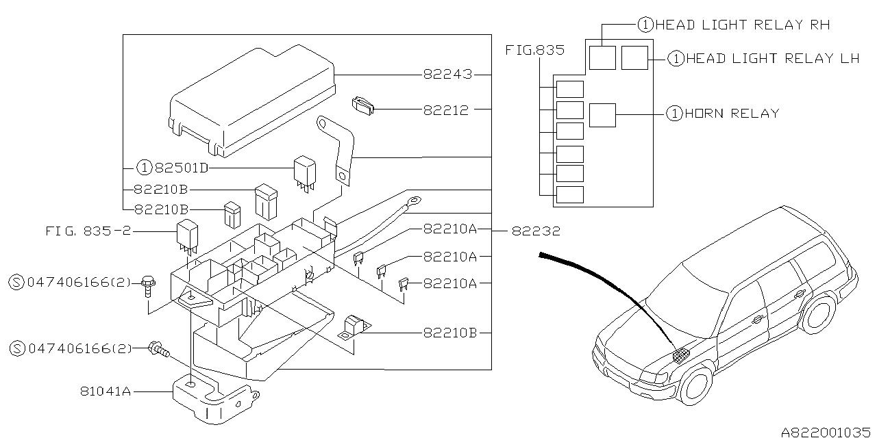 1999 subaru forester fuse box subaru parts deal rh subarupartsdeal com