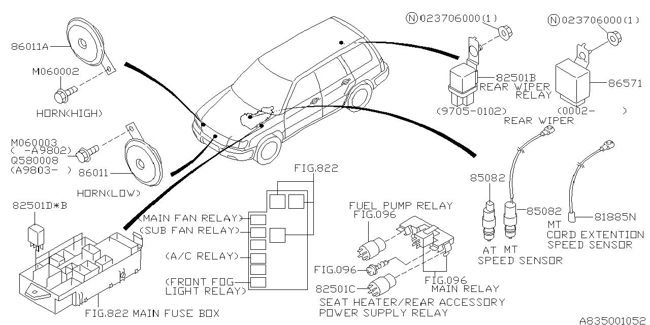 Outback Fuse Box Diagram On 1998 Subaru Outback Fuel Pump Relay