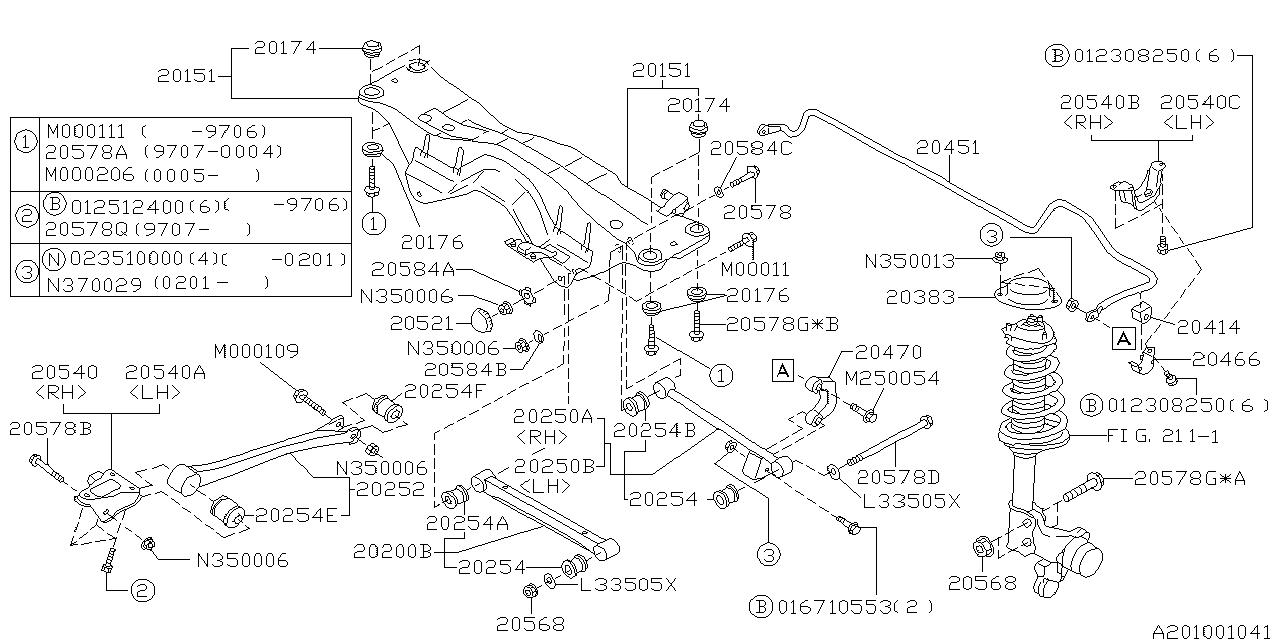 2005 Subaru Legacy Engine Parts Diagram