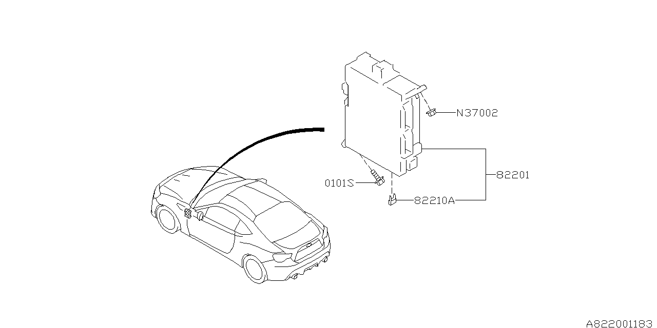 2013 Subaru Brz Fuse Box