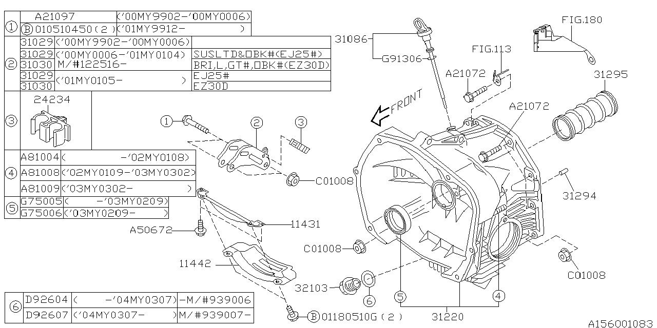 2003 Subaru Baja Wiring Diagram