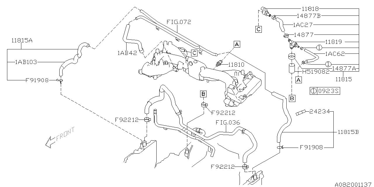 Engine Vacuum Hose Diagram