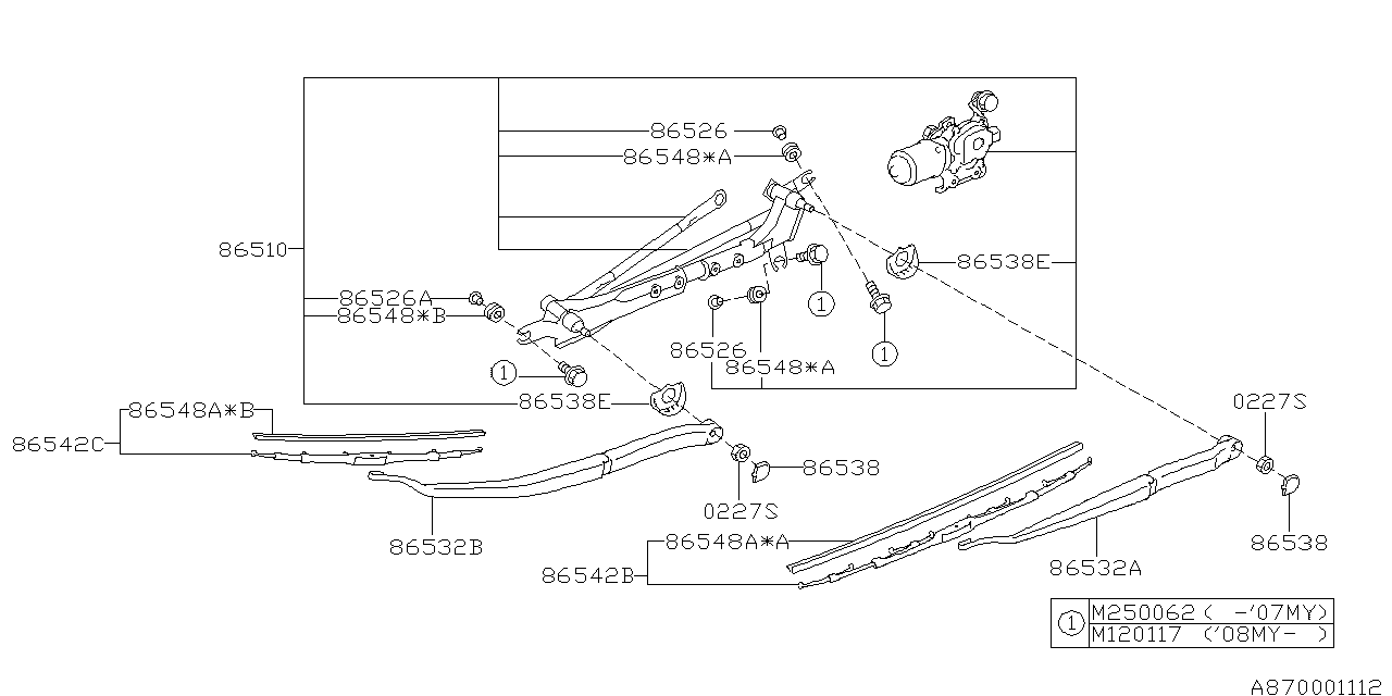 2008 Subaru Outback Parts Diagram