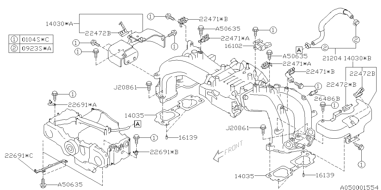 2005 subaru outback engine diagram
