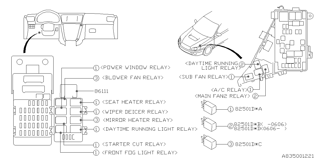 Wiring Diagram For 2006 Legacy