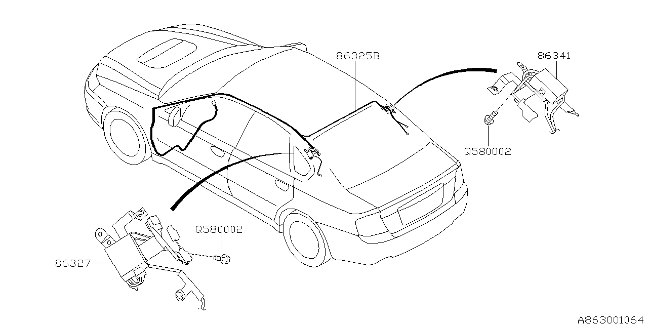 Diagram Of 2005 Subaru Outback Xt Engine