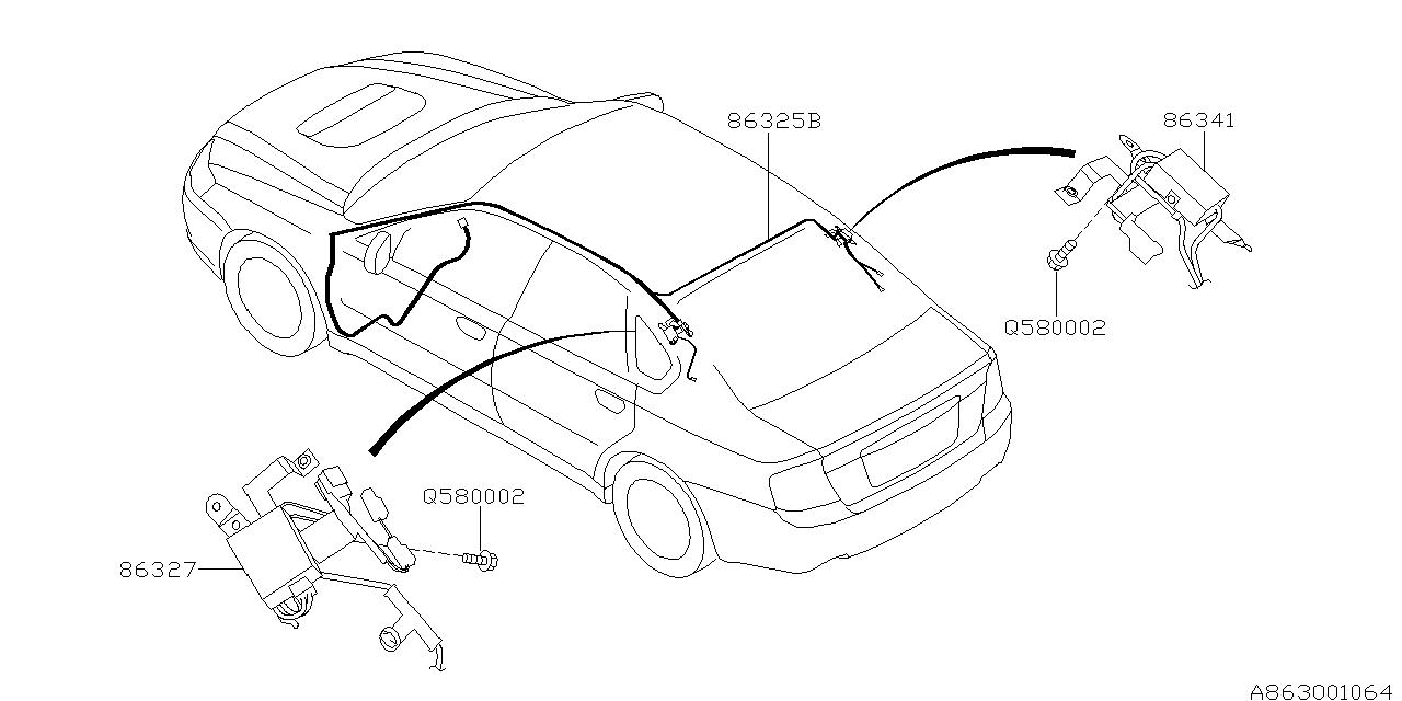 Diagram Of 2005 Subaru Outback Xt Engine