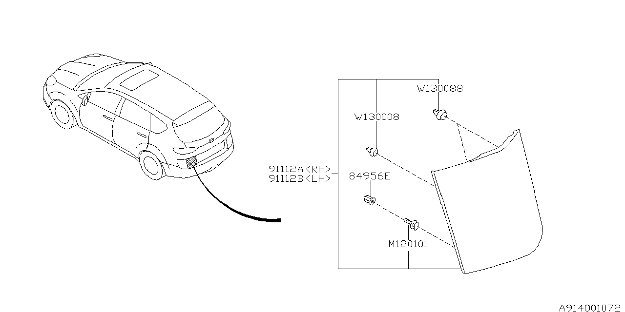 Subaru Engine Diagram 2006 Tribeca