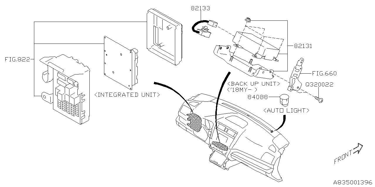 2016 Subaru Legacy Electrical Parts - Body - Thumbnail 1