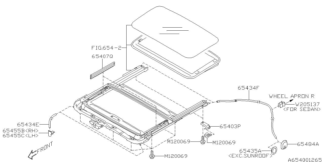 subaru 2 5l engine diagram