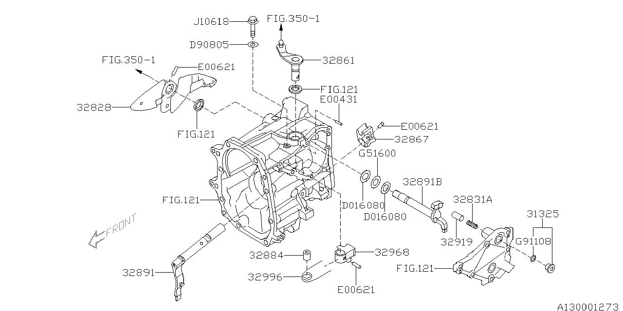 Subaru 32969AA060