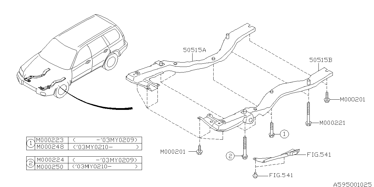 2006 subaru forester parts manual