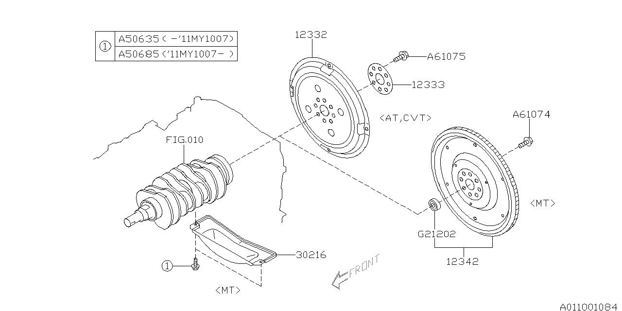 2012 Subaru Legacy Engine Diagram