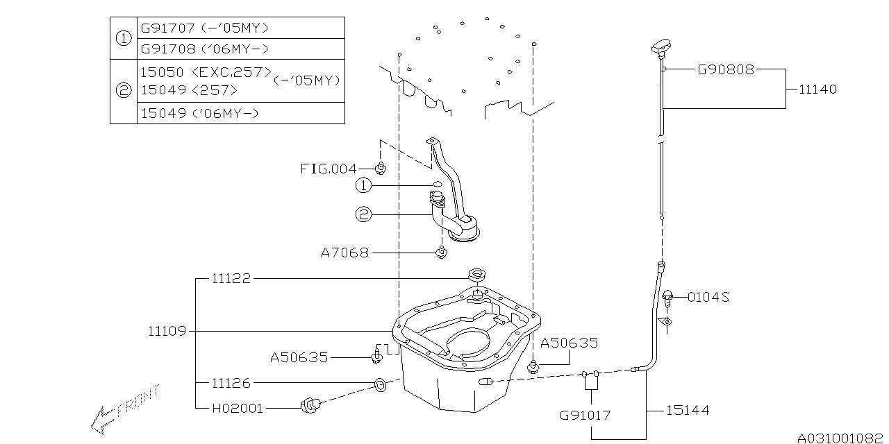 Subaru 11109AA130