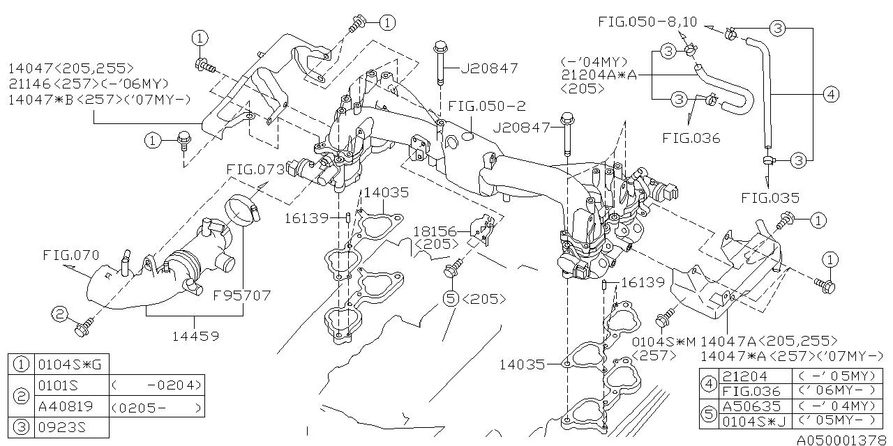 subaru 14047aa650 Subaru Fuel System Diagram