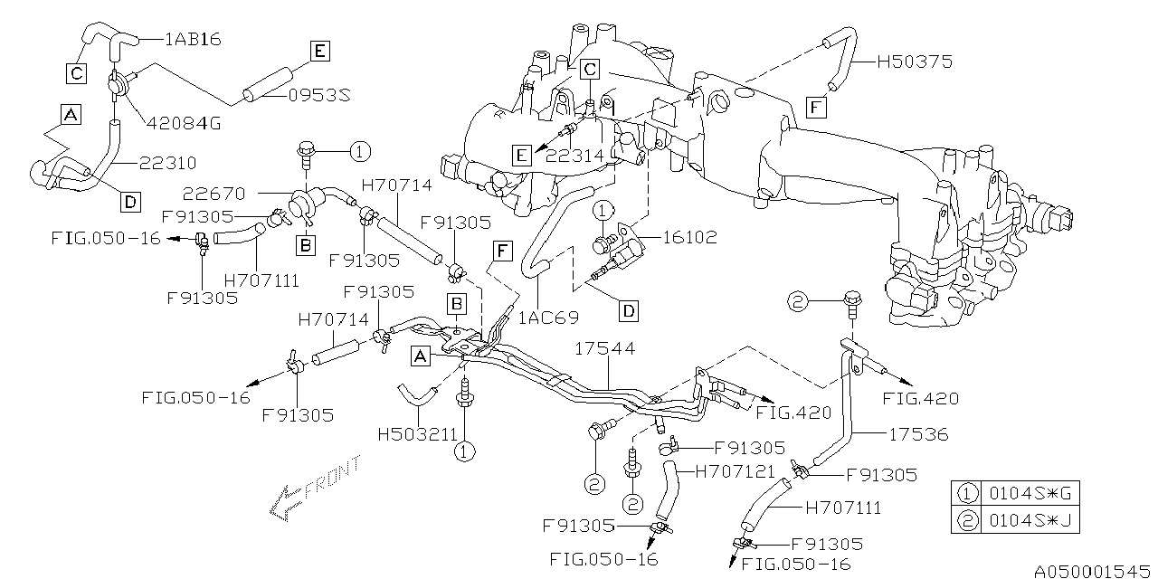 subaru baja engine diagram image 4