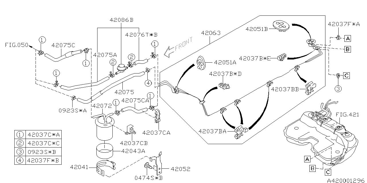 2000 Subaru Forester Engine Diagram Also 1996 Subaru Legacy Outback