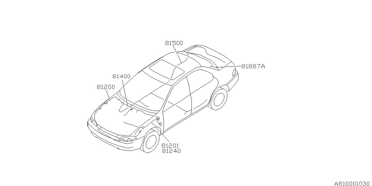Marvelous 1997 Subaru Impreza Wiring Harness Main Subaru Parts Deal Wiring Digital Resources Millslowmaporg