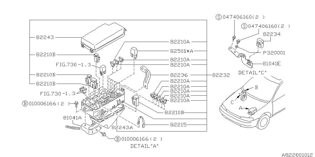 1997 subaru impreza fuse box subaru parts deal rh subarupartsdeal com