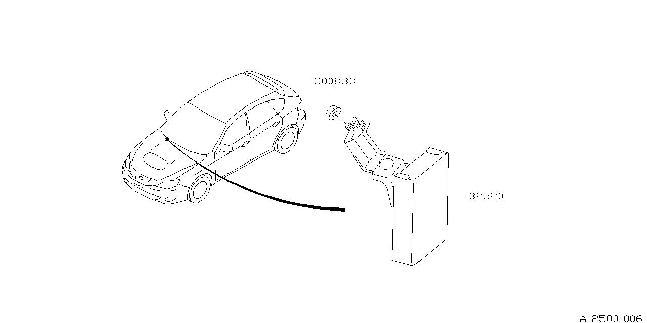 2010 Subaru Impreza WRX Differential Control Unit
