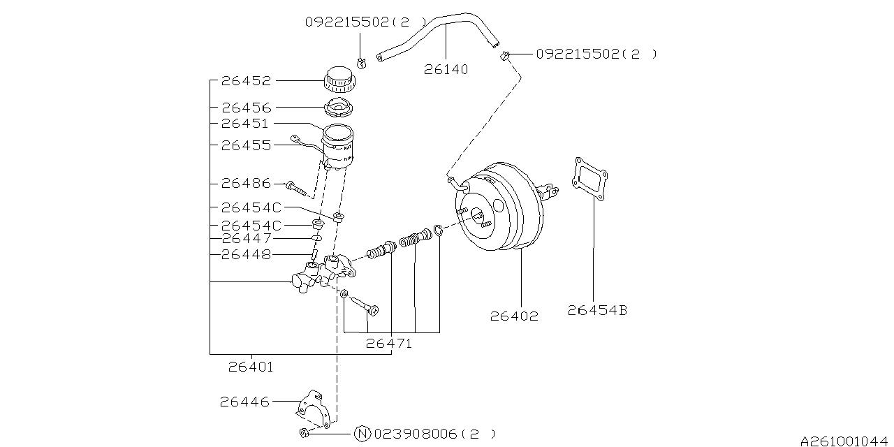 legacy gt vacuum diagram