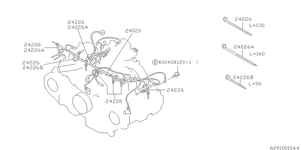 Wiring Diagram Subaru Legacy 1995