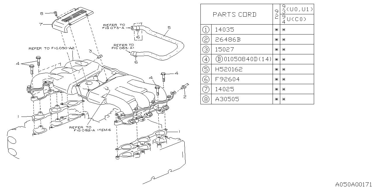 1993 subaru svx intake manifold subaru parts deal Subaru SVX Suspension Diagram