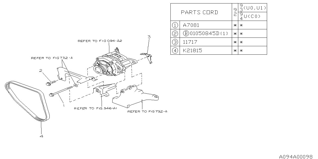 1992 subaru svx alternator subaru parts deal Subaru SVX Suspension Diagram