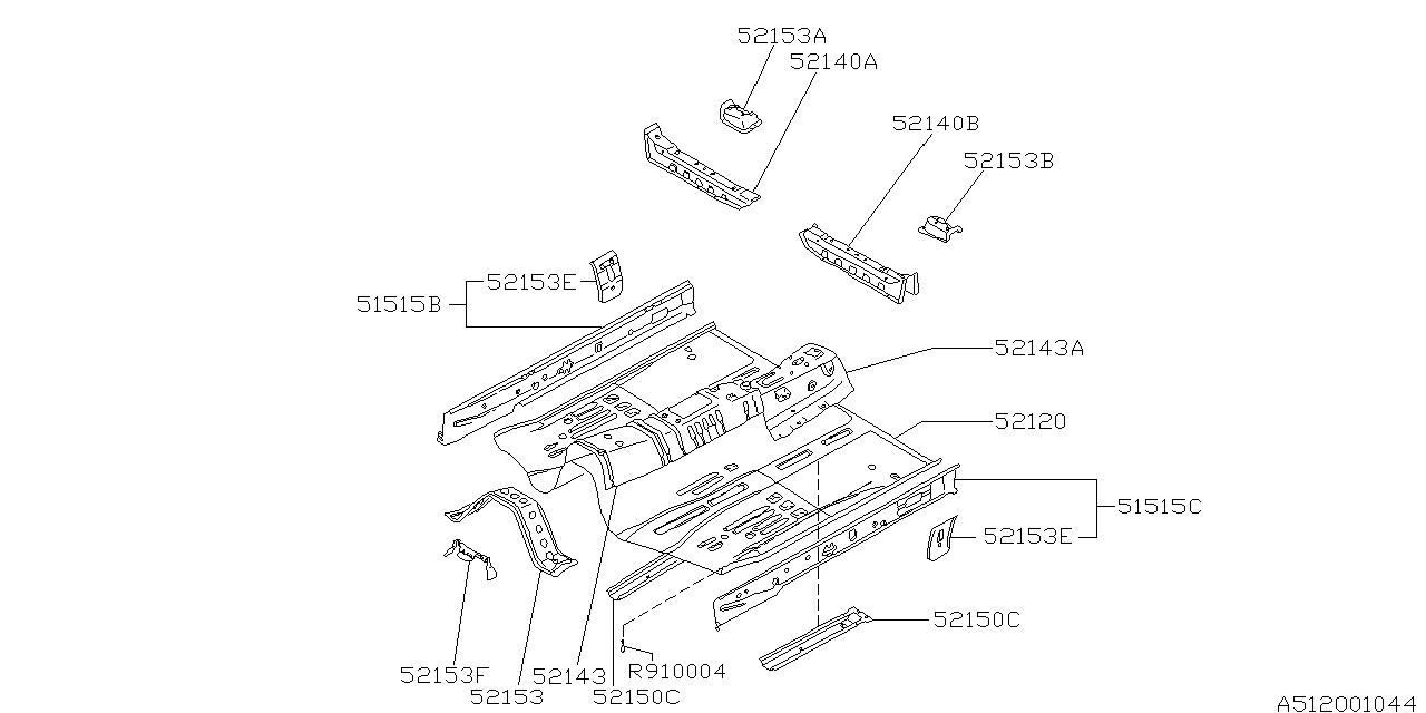 1994 subaru svx engine diagram