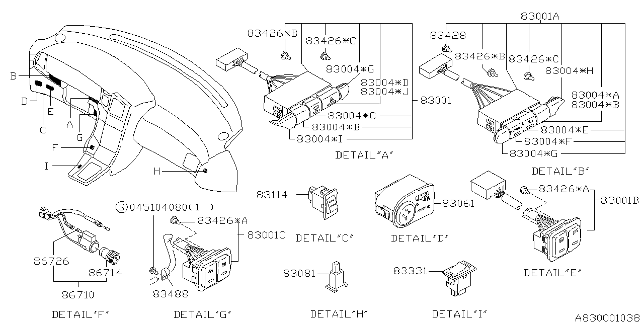 related with 1994 subaru svx fuse box