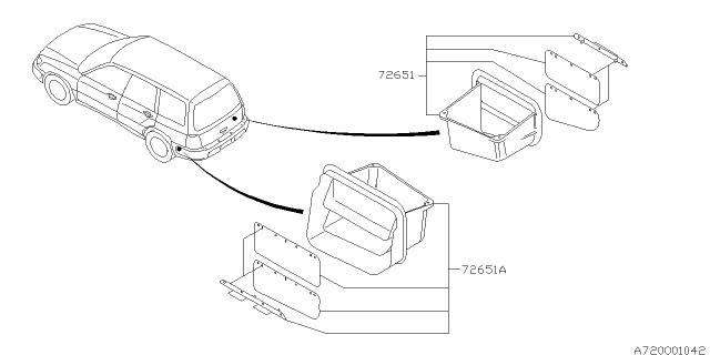 2002 Subaru Forester Heater System Subaru Parts Deal