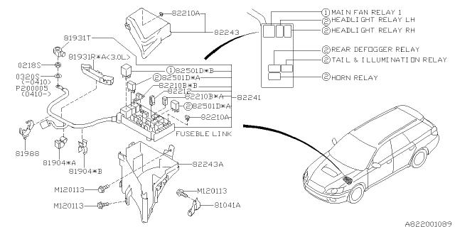 [DIAGRAM_5FD]  2007 Subaru Outback Fuse Box - Subaru Parts Deal | 2007 Subaru Outback Fuse Diagram |  | Genuine Subaru Parts