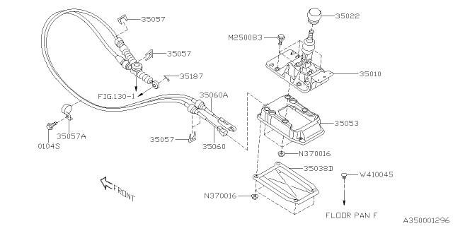 2015 Subaru Outback Manual Gear Shift System Subaru Parts Deal