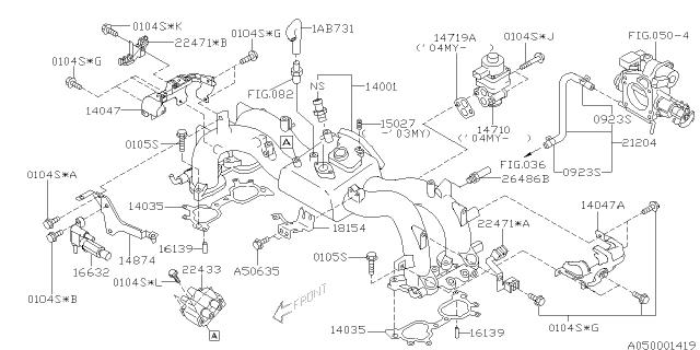 99071AB731 - Genuine Subaru HOSE VACUUMSubaru Parts Deal
