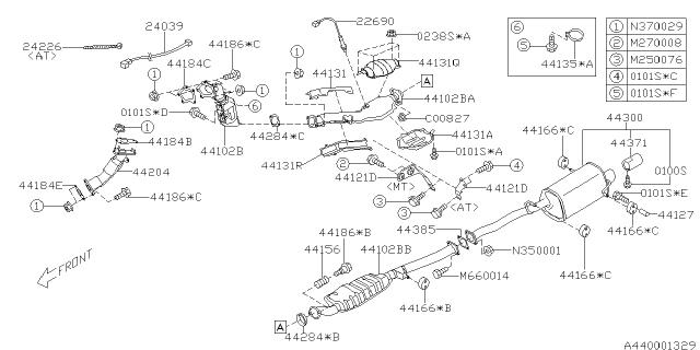 2008 subaru forester exhaust - subaru parts deal  subaru parts deal