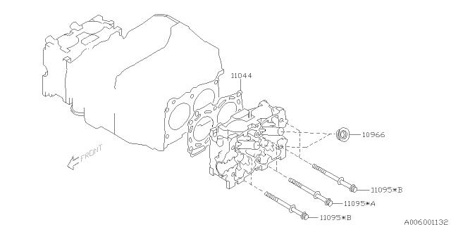 2003 Subaru Impreza Wrx Cylinder Head Subaru Parts Deal