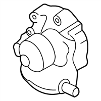 Subaru Forester Water Pump - 21111AA007
