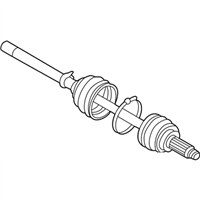 Subaru 28023AC060 BOOT DRIVE SHAFT