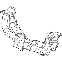 Subaru WRX Exhaust Pipe - 44609AA011