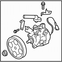 Subaru Legacy Power Steering Pump - 34430AG03B