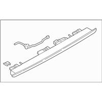 Subaru Impreza Third Brake Light